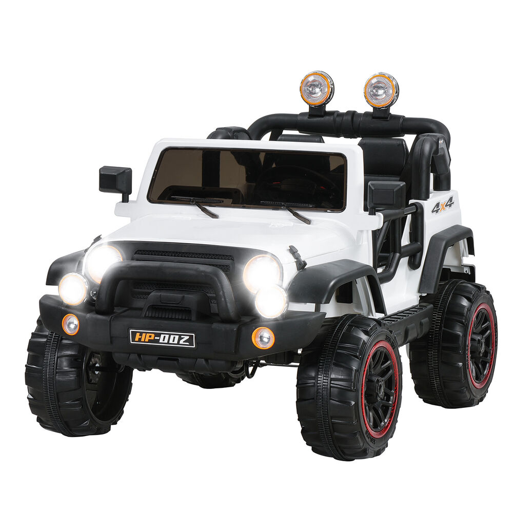 Power Wheels Cars Bentley: White 12V Kids Ride On Cars Electric Battery Power Wheels