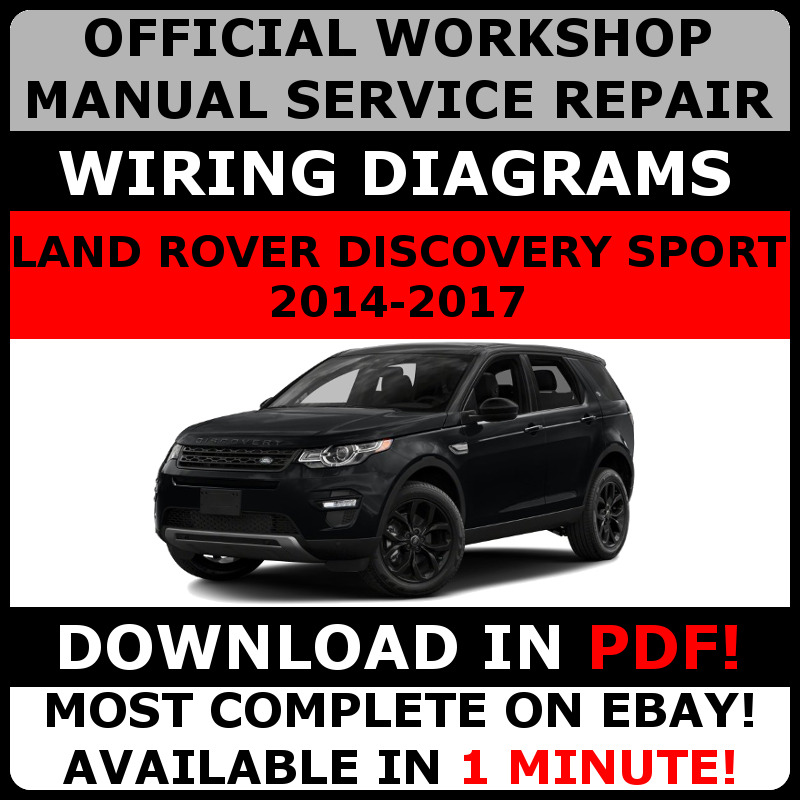 # OFFICIAL WORKSHOP Service Repair MANUAL LAND ROVER