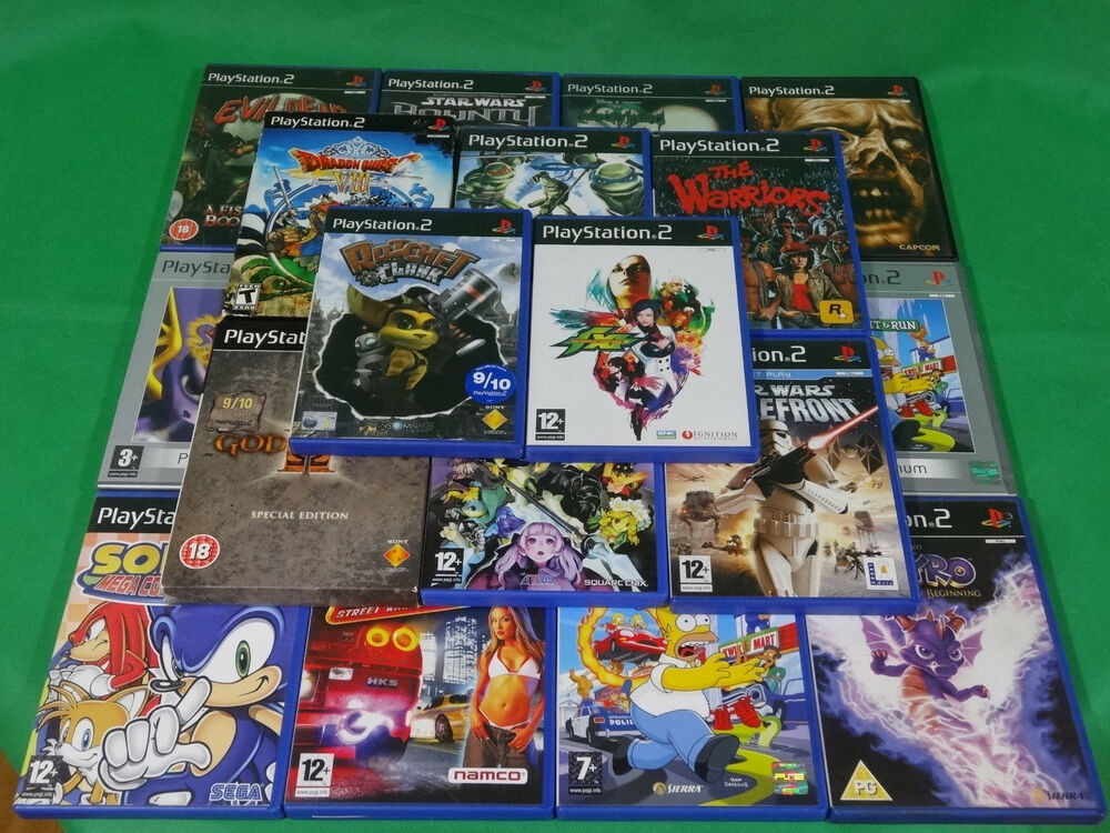 PlayStation 2 PS2 Games Game Collection Rare Best Cheap ...
