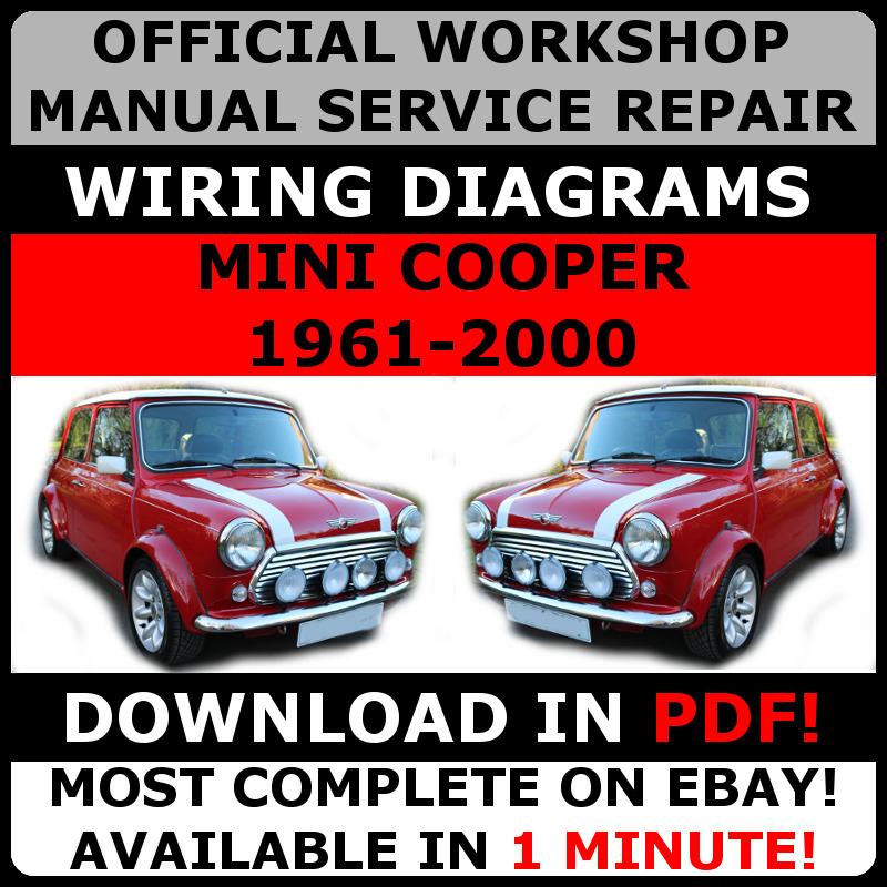 details about # official workshop service repair manual mini cooper  1961-2000#