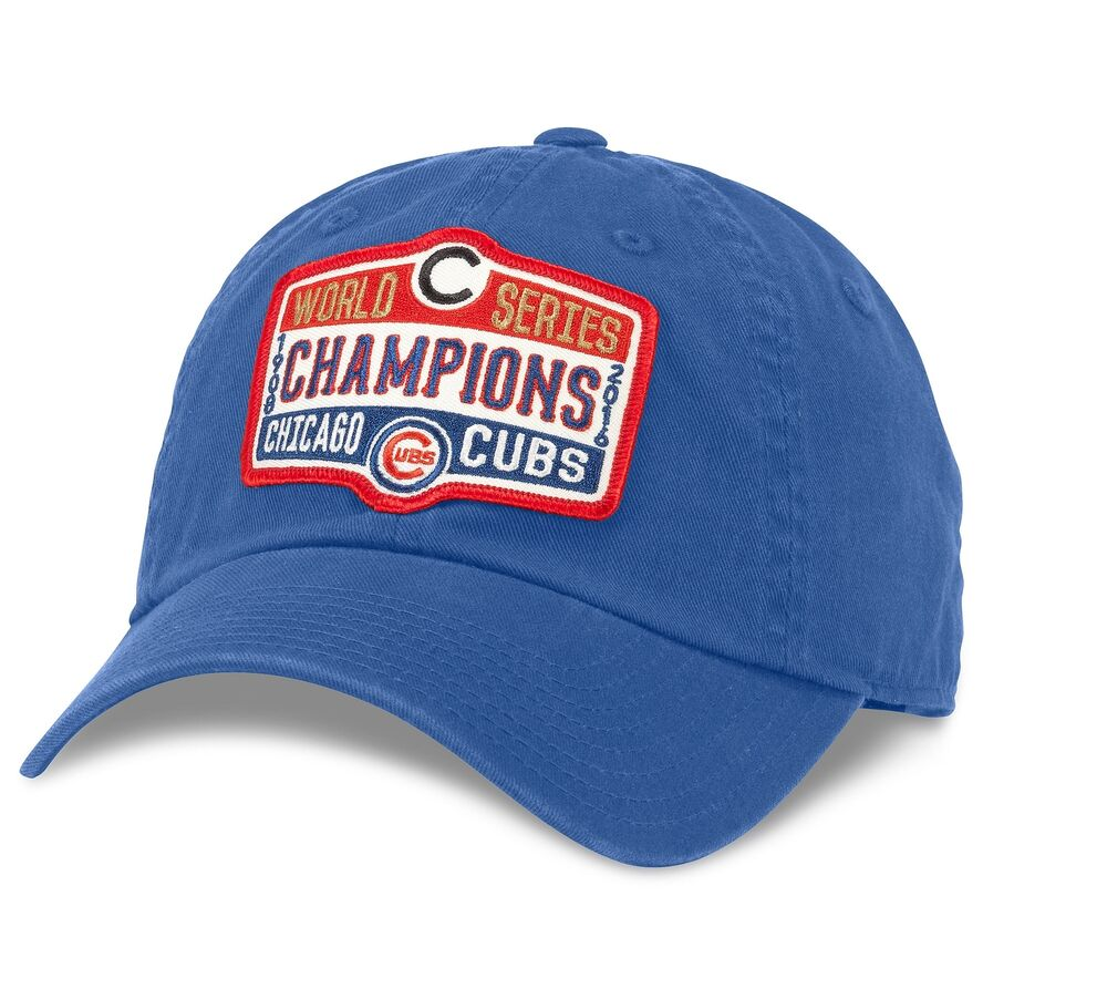 Details about MLB American Needle Chicago Cubs World Series Champions  Adjustable Crew Hat 042b950647a