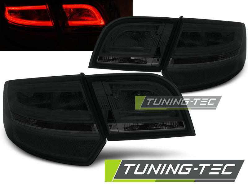 audi a3 8p sportback led lightbar r ckleuchten schwarz. Black Bedroom Furniture Sets. Home Design Ideas