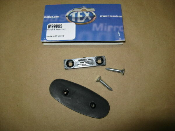 TEX Door MIRROR PLINTH MOUNT / FIX Kit #CZA7164K  for MGB TRIUMPH SPITFIRE, XJS