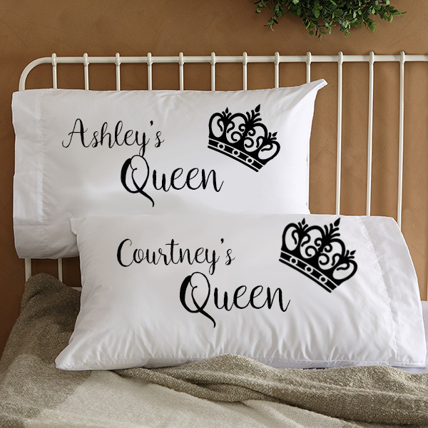 Details about Personalized Lesbian LGBT Couple Pillowcases Wife Engagement  gifts Christmas 0d744aa4a