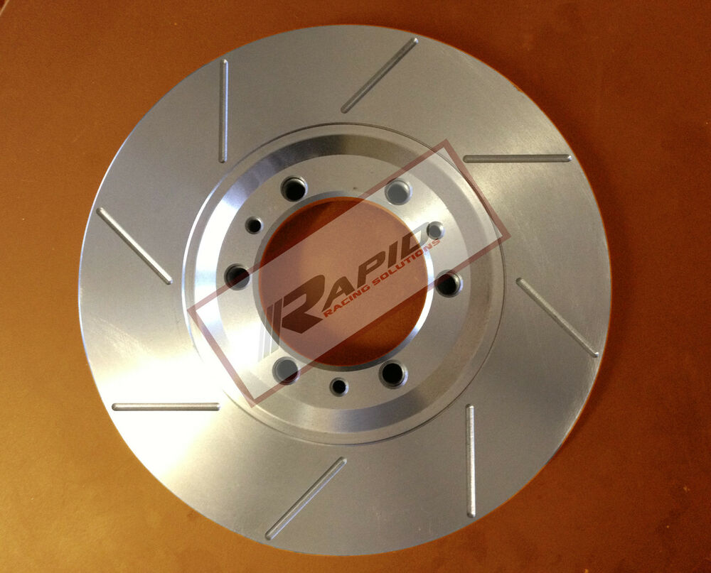 PADS for Holden Crewman Cross 6//8 AWD 4WD 2003 on FULL SET DISC BRAKE ROTORS