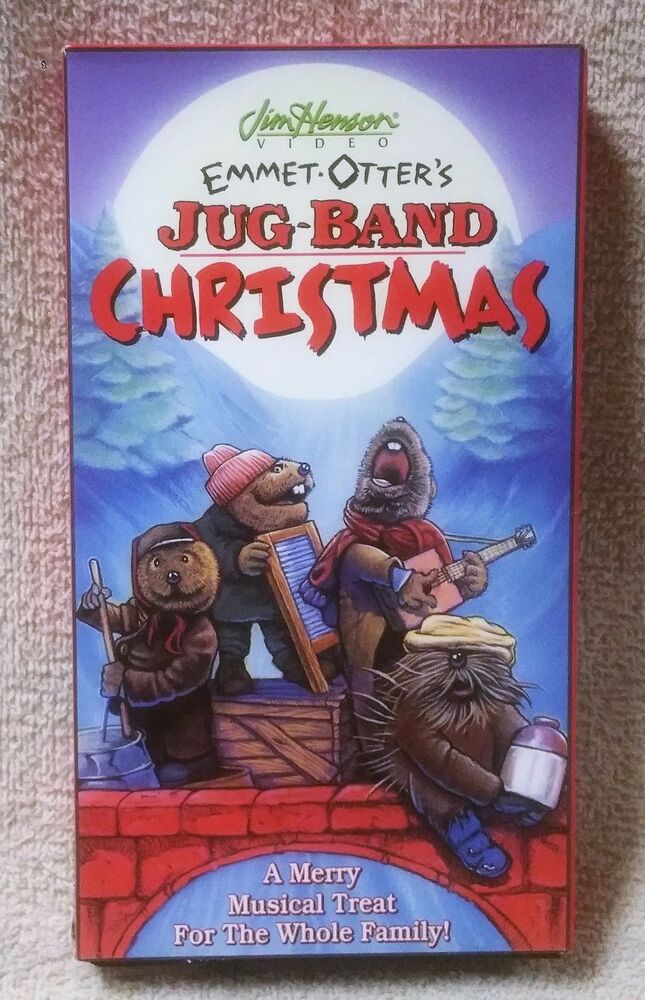 EMMET OTTER\'S JUG-BAND CHRISTMAS Vhs Video Tape JIM HENSON 1998 ...