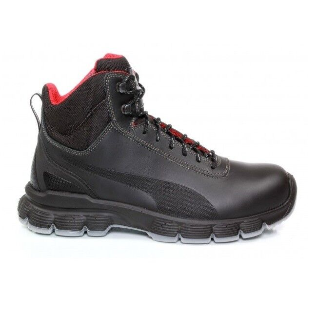 446fdfca1cd Details about Puma Pioneer Mid Safety Boots with Steel Toecaps