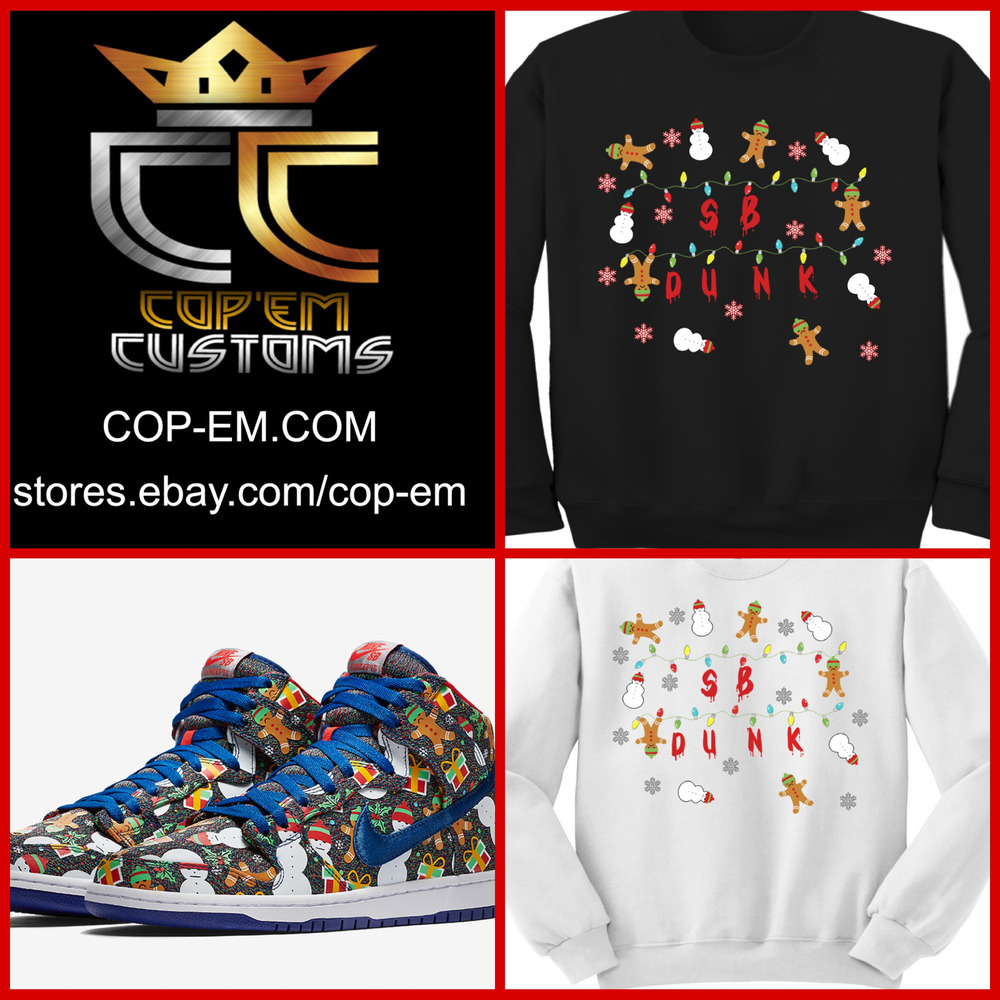 EXCLUSIVE SWEATER to match Concepts x NIKE SB Dunk Pro High Ugly ...