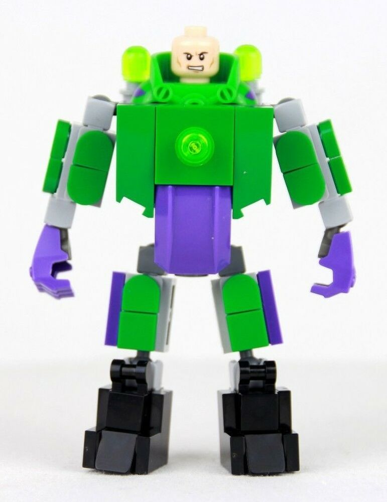 Custom Lego Lex Luthor Giant Suit Lxf File And Instructions Only
