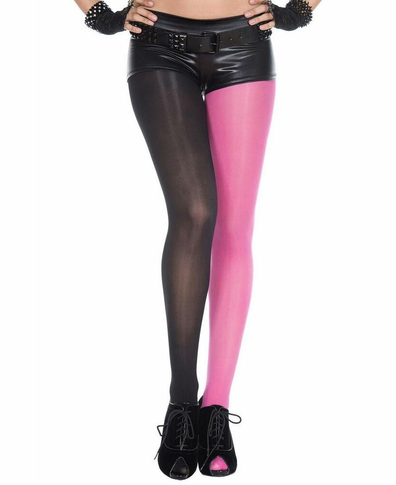 050f16292 Details about Jester Opaque Spandex Tights - Music Legs 7000