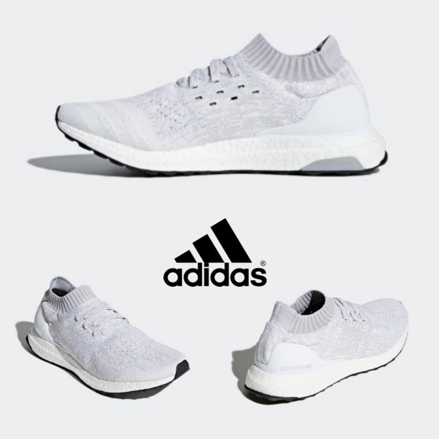 d9549a145 Details about Adidas Ultra Boost Uncage Shoes Running Sockfit White DA9157  SZ 4-11