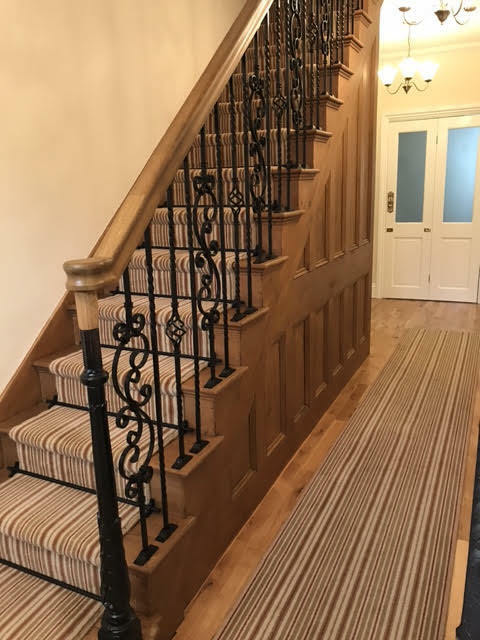 Wrought Iron Metal Stair Spindles Internal And External