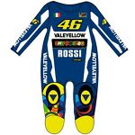 Official Valentino Rossi Leather Replica VR46 Baby Overall Suit - 263403
