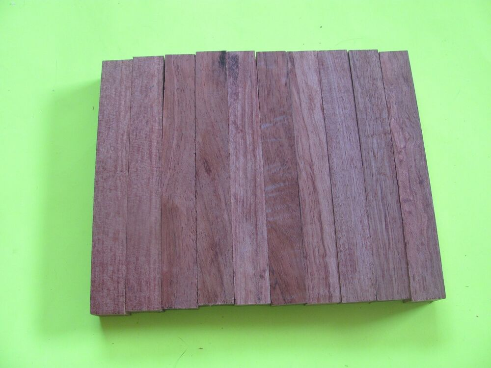 "3 3 PCS BUBINGA PEN BLANKS WOOD TURNING SQUARE FREE SHIPPING 3//4/"" X 3//4/"" X 6/"""