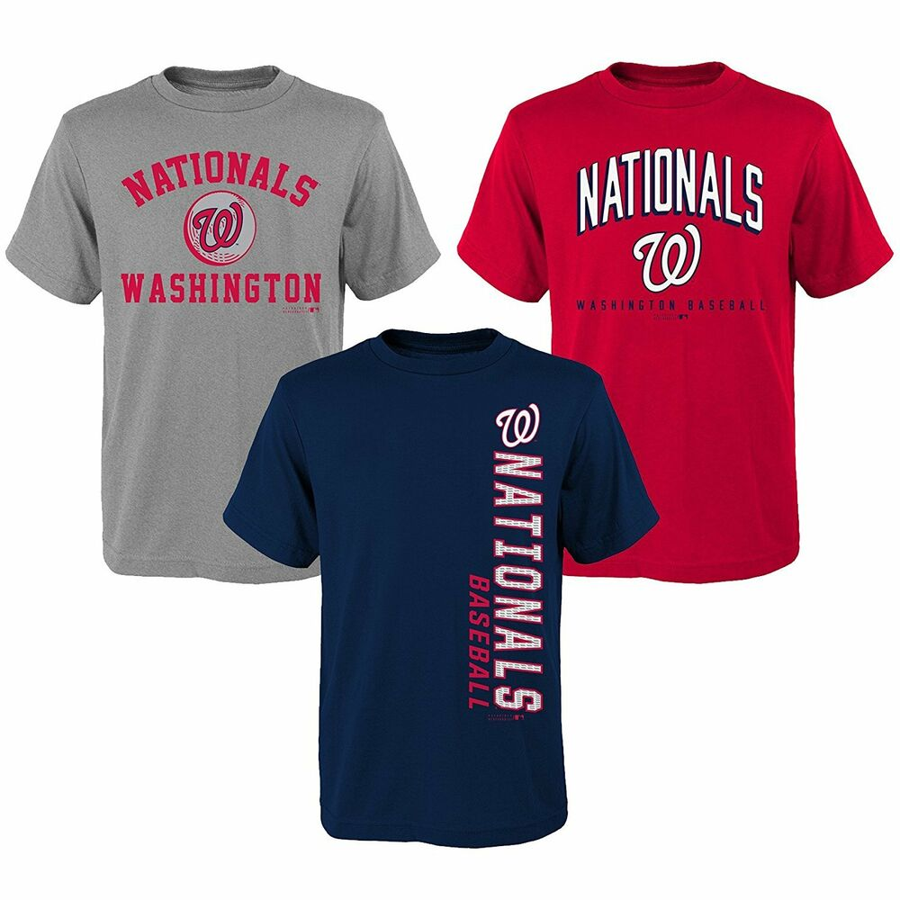 Details about Washington Nationals MLB Youth Boys Pick Color Short Sleeve  Team T-Shirts  S-XL dd133a915