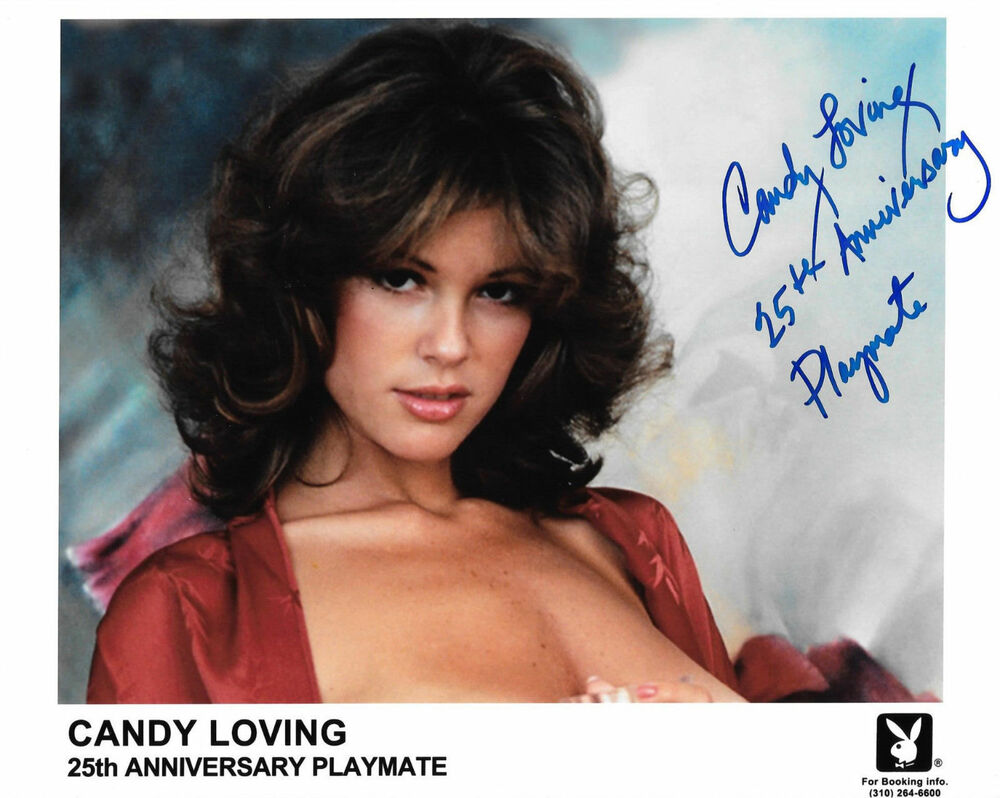 Images Of Candy Loving Classy candy loving signed 8x10 autographed photo 25th anniversary