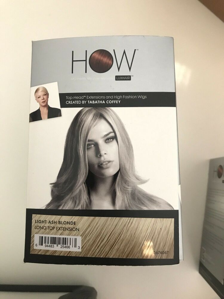 Tabatha Coffey Long Top Extensions Luxhair Howlight Ash Brown