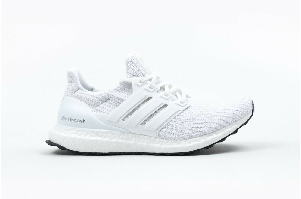f34efc1a3dfb4 New Adidas Ultra Boost 4.0 Triple White BB6168 For Mens LIMITED EDITION