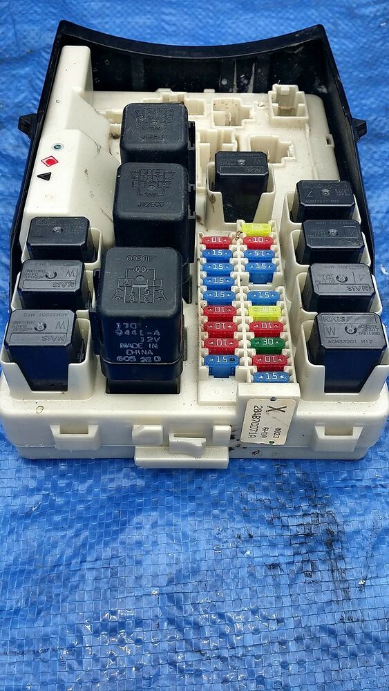 2007 nissan 350z oem relay power junction terminal panel ... 2003 350z fuse box location 350z fuse box