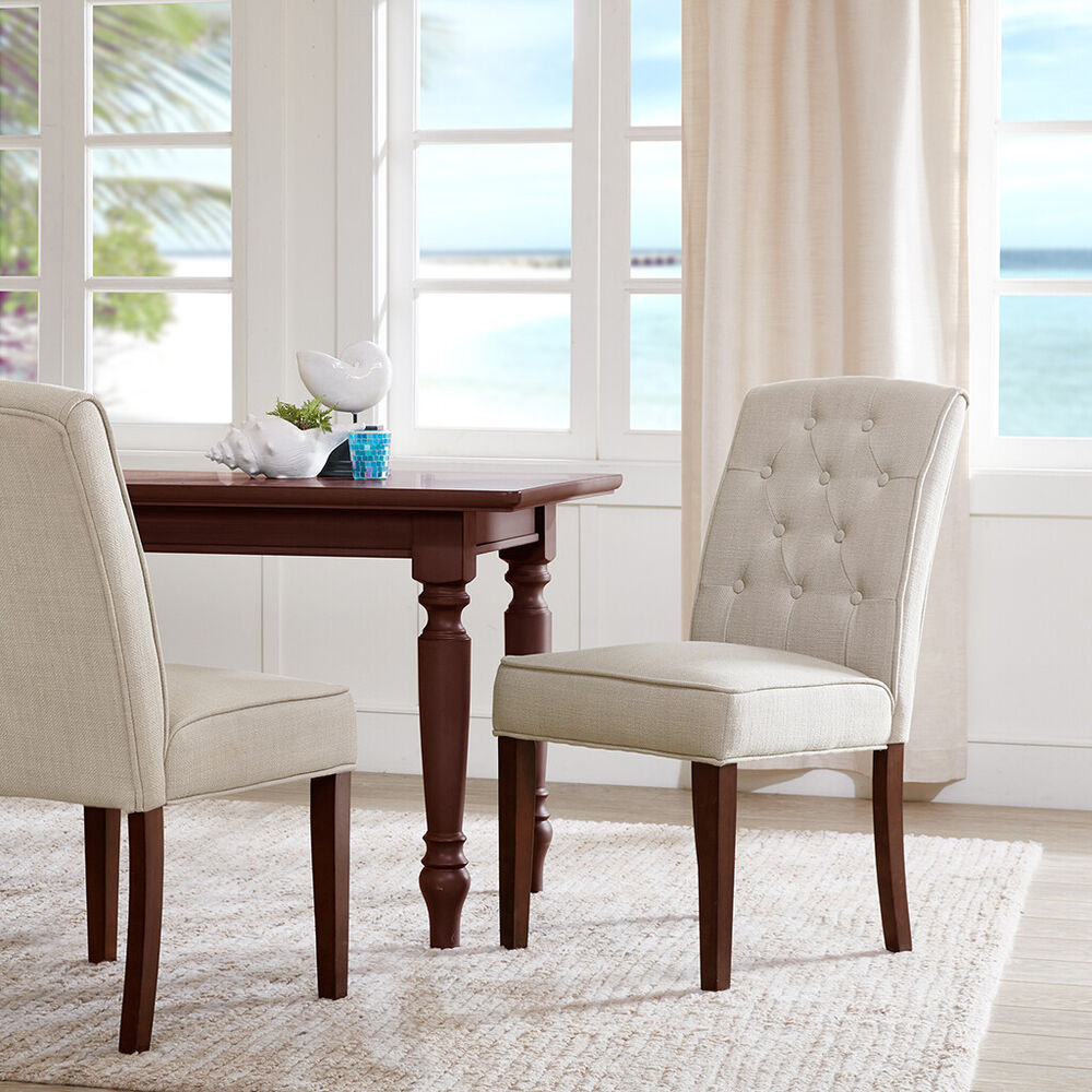 Madison Park Marian Tufted Dining Chair Set Of 2 Ebay