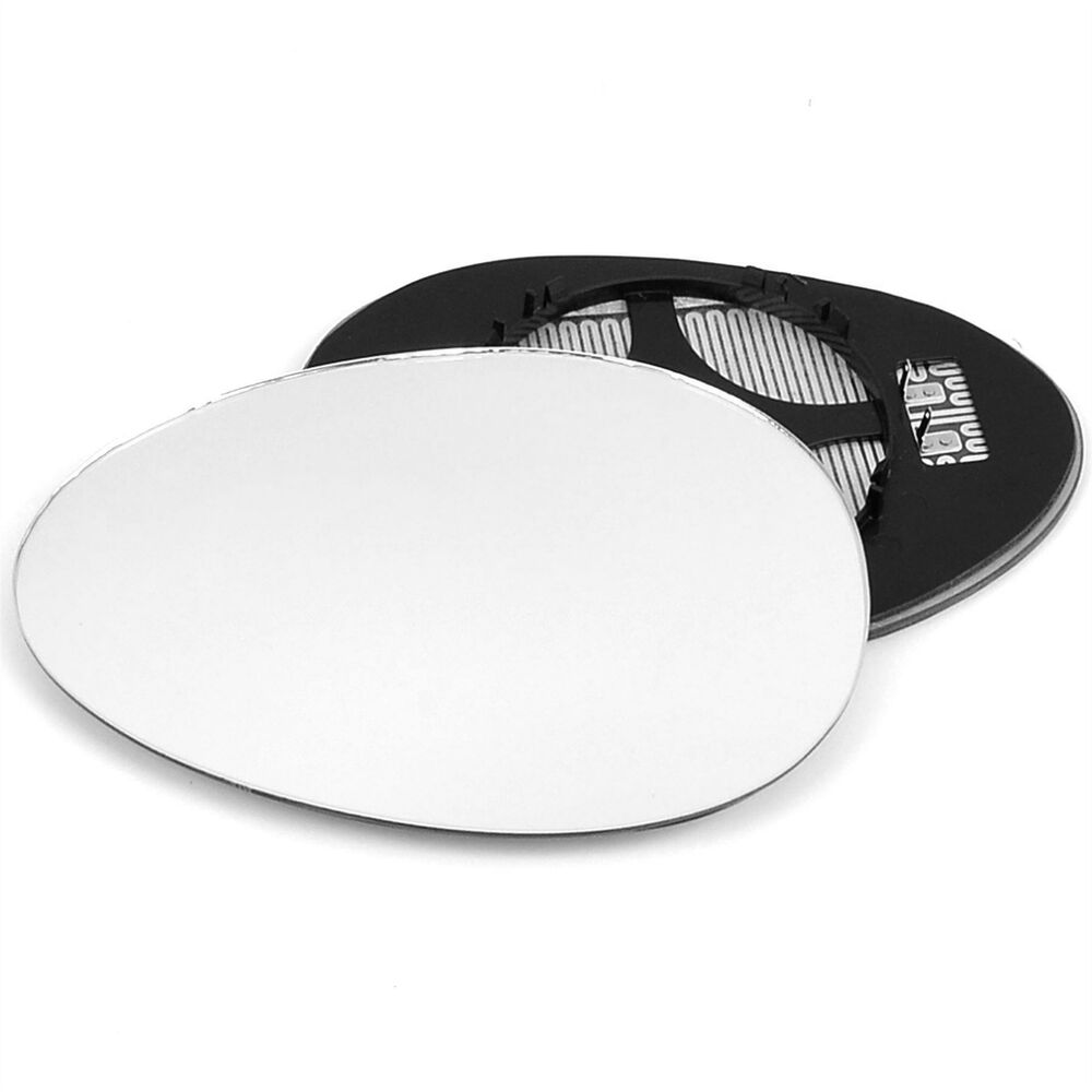 Left Passenger Side Mirror Glass With Clip For Bmw Mini Cooper 2006
