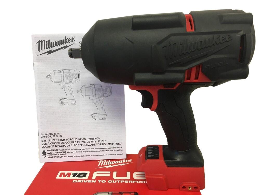 Milwaukee 2767 20 M18 Fuel 189 Impact Wrench W Friction