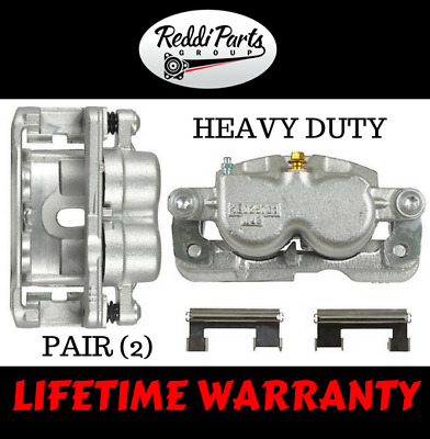 Rear Disc Brake Calipers Pair fits GMC Chevy 2500 3500 LIFETIME WARRANTY