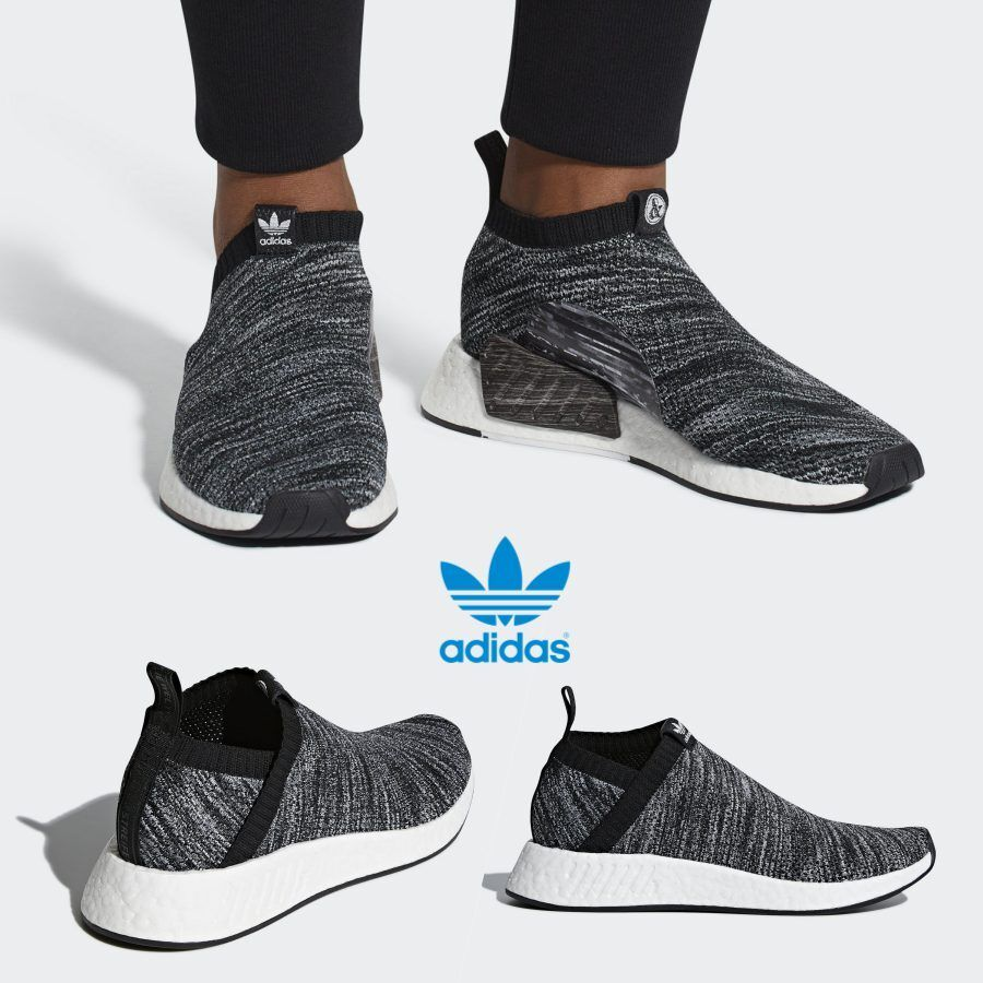 ea9730a5a69aa Details about Adidas Original UA SONS NMD CS2 Runner Shoes Running Black  White DA9089 SZ 4-13