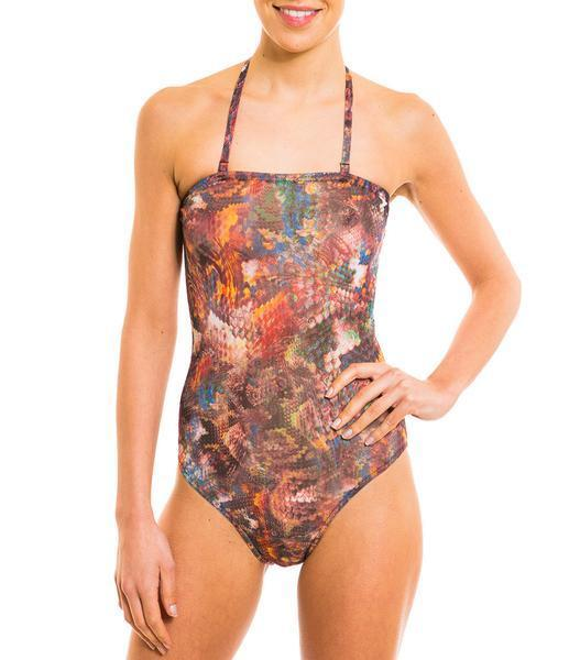 f1b8d469ef Details about Kiniki Pavo Tan Through Tube Swimsuit Quick Drying Fabric