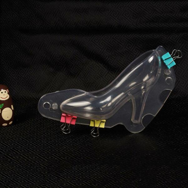 3D High Heel Shoe Chocolate Candy Cake Decorating Mould Jelly Soap Ice Tool Mold
