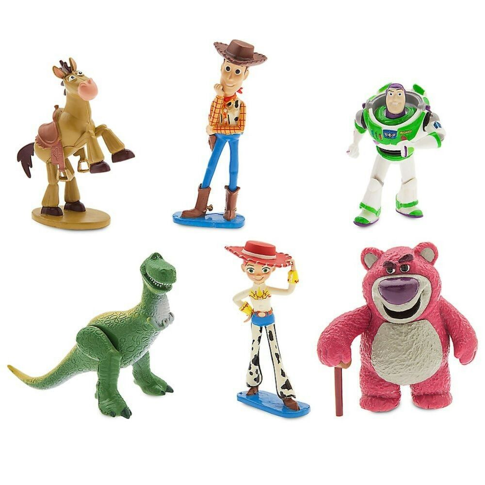 Details about Toy Story Figure Play Set 6 Pieces 3+ Buzz Light Year Woody  Jessie Rex Bullseye 056ff437fa5