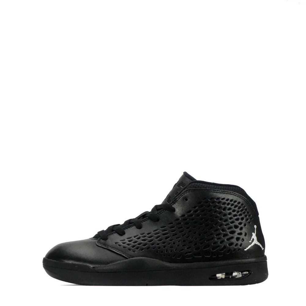3fed2fe37e Details about Nike Jordan Flight 2015 Men's Ankle Leather Casual Trainers  Shoes in Black