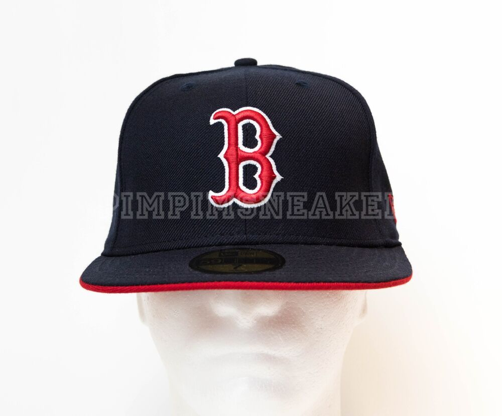 Boston Red Sox  New Era Onfield Fitted Hat 100121313