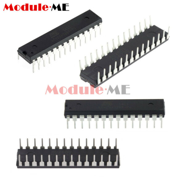 DIP-28 ATMEGA328P-PU Microcontrolle​r With ARDUINO UNO R3 Bootloader or Not