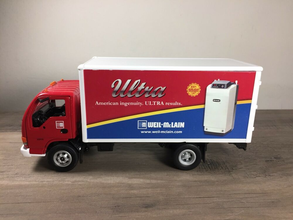 Ertl Collectibles Gmc Delivery Truck Ultra Oil Die-cast Metal Weil ...