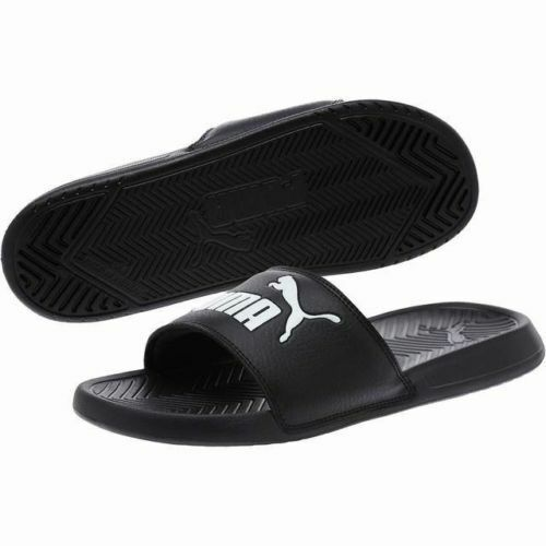 6514c0f30 Details about Puma Popcat Men's Sandals Black/White 360265 10 Fast shipping  LaSO