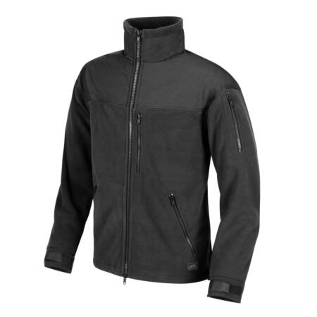 img-Helikon Tex Classic Army Fleece Jacket Black/Black Outdoor