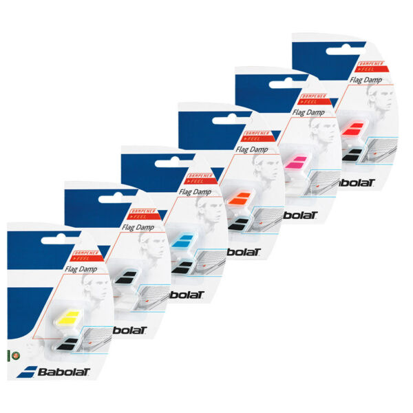 Babolat Flag Dampeners (2-Pack) Various Colors