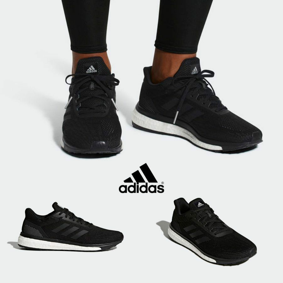 Adidas Adidas Adidas Response Runner Shoes Athletic Sneakers Running Black CQ0015 f69fea