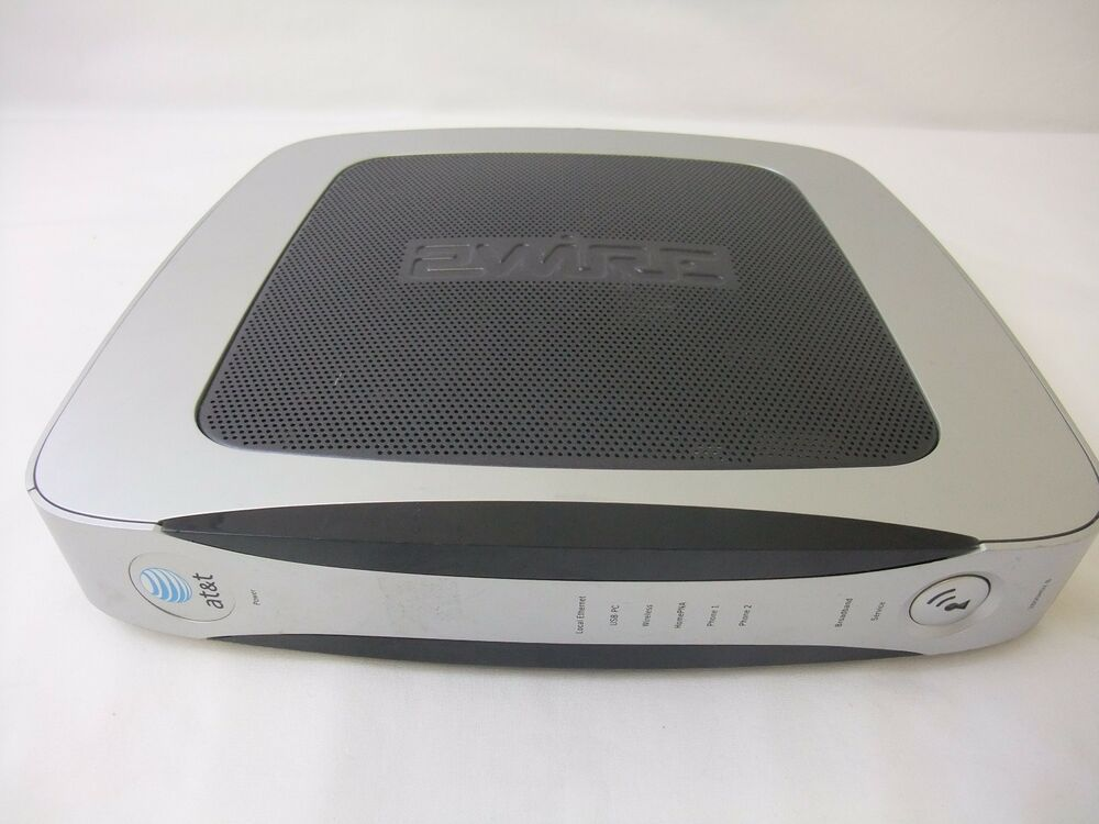 Vintage AT&T 2Wire 3800HGV-B Gateway DSL Modem Home WiFi Router | eBay