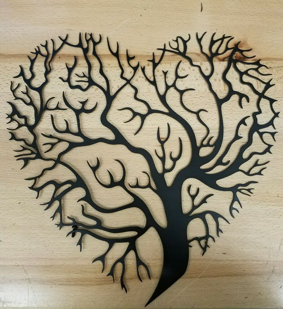 Tree Of Life Metal Wall Art Plasma Cut Decor Gift Set Idea Mothers Day |  EBay