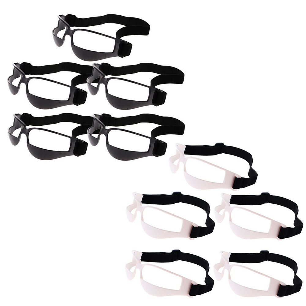 2ad69e40ca39 Details about (Pack 5) Basketball Goggles Dribble Specs Eyewear Glasses  Handling Training Aid