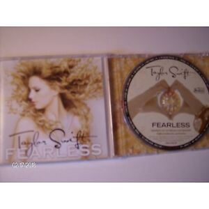 Fearless Cd Taylor Swift 2008 Big Machine Records Fifteen And More Complete Guc