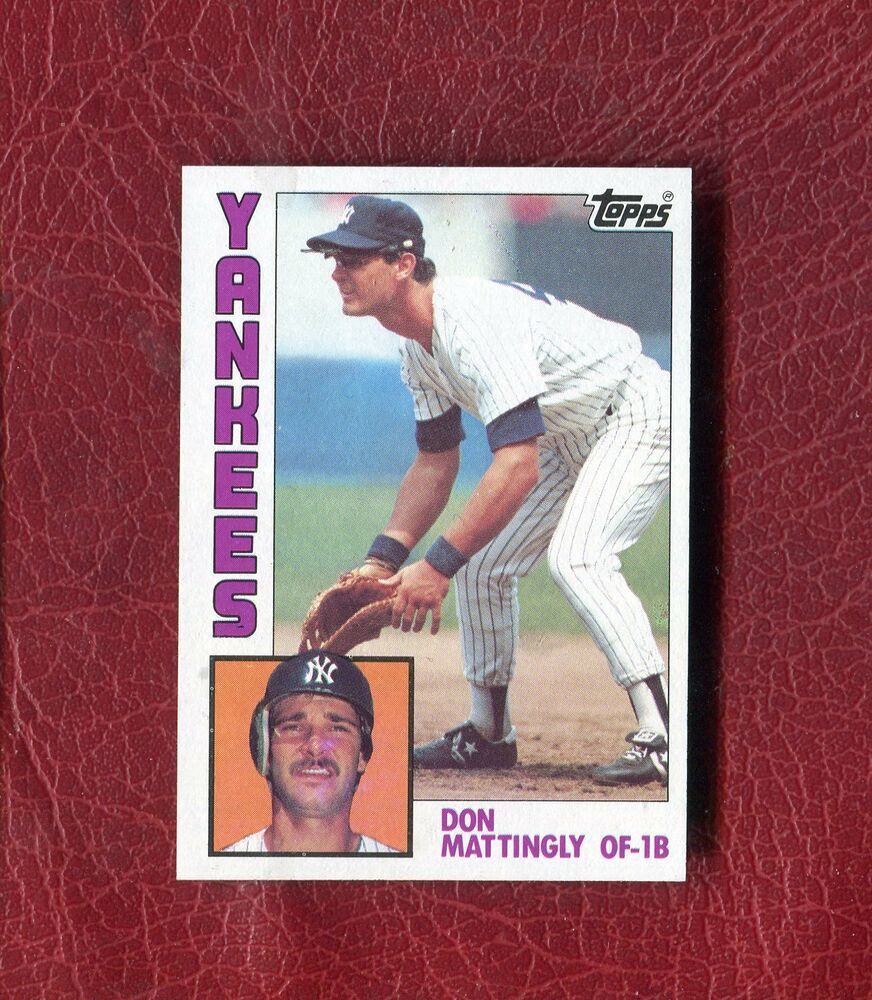 Don Mattingly Rookie Card Topps