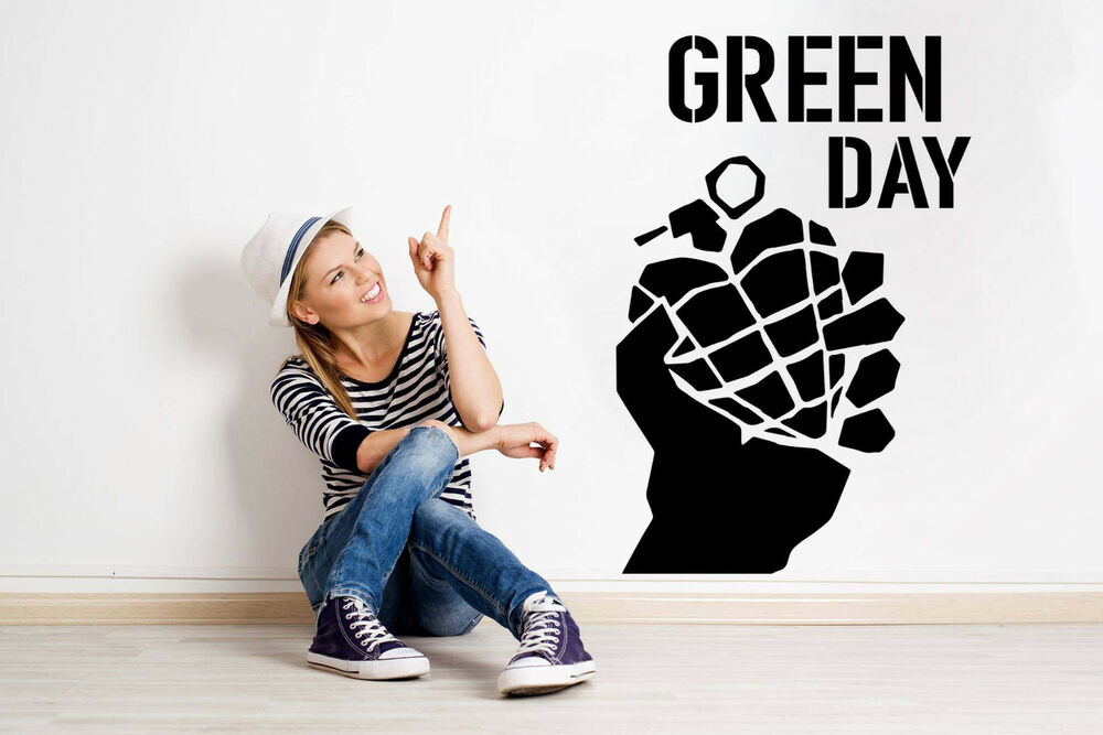large green day wall art bedroom living room kitchen vinyl decal