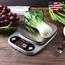 22lb/10kg Digital Electronic Kitchen Scale Meat Diet Food Postal Weight Balance
