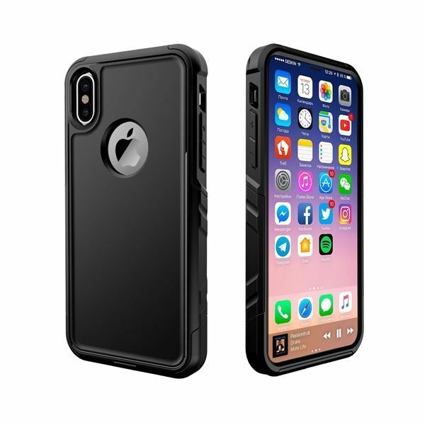 VENTURA WATERPROOF MILITARY LEVEL SHOCKPROOF CASE FOR iPhone X (10) - Blue
