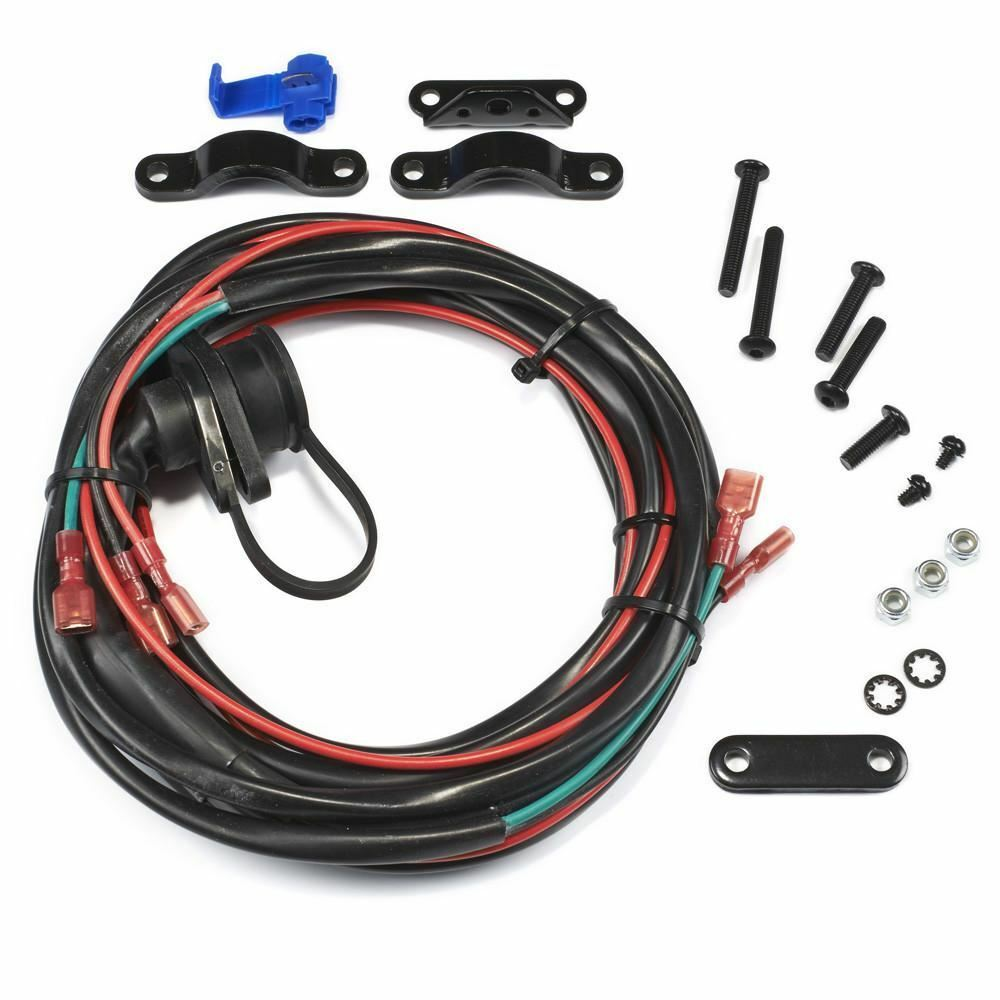 Warn 89586 Remote Control Socket  U0026 Wire Harness For