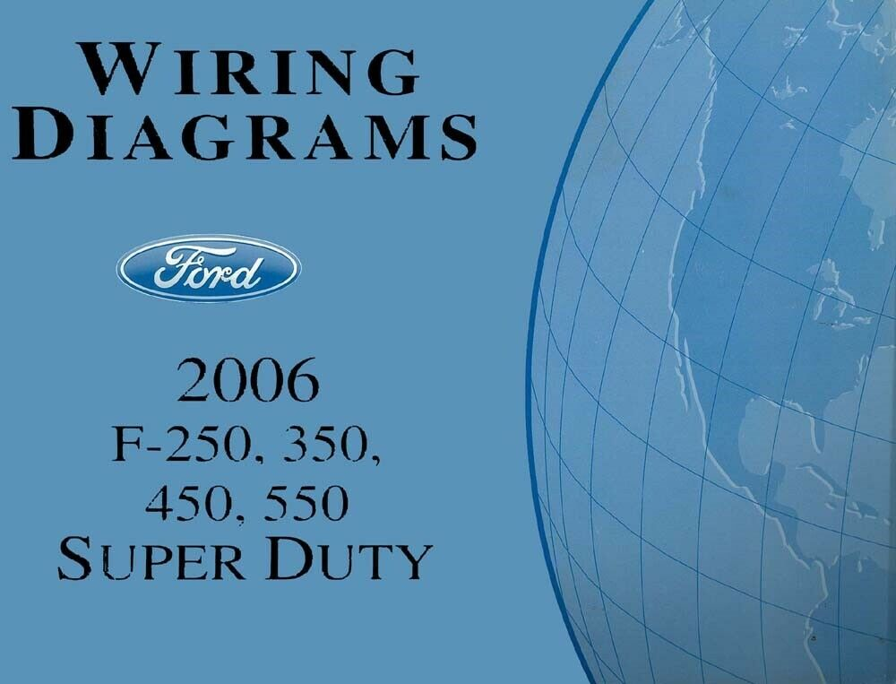 37 ford wiring diagram 2006    ford    f250 f550 super duty truck electrical    wiring     2006    ford    f250 f550 super duty truck electrical    wiring