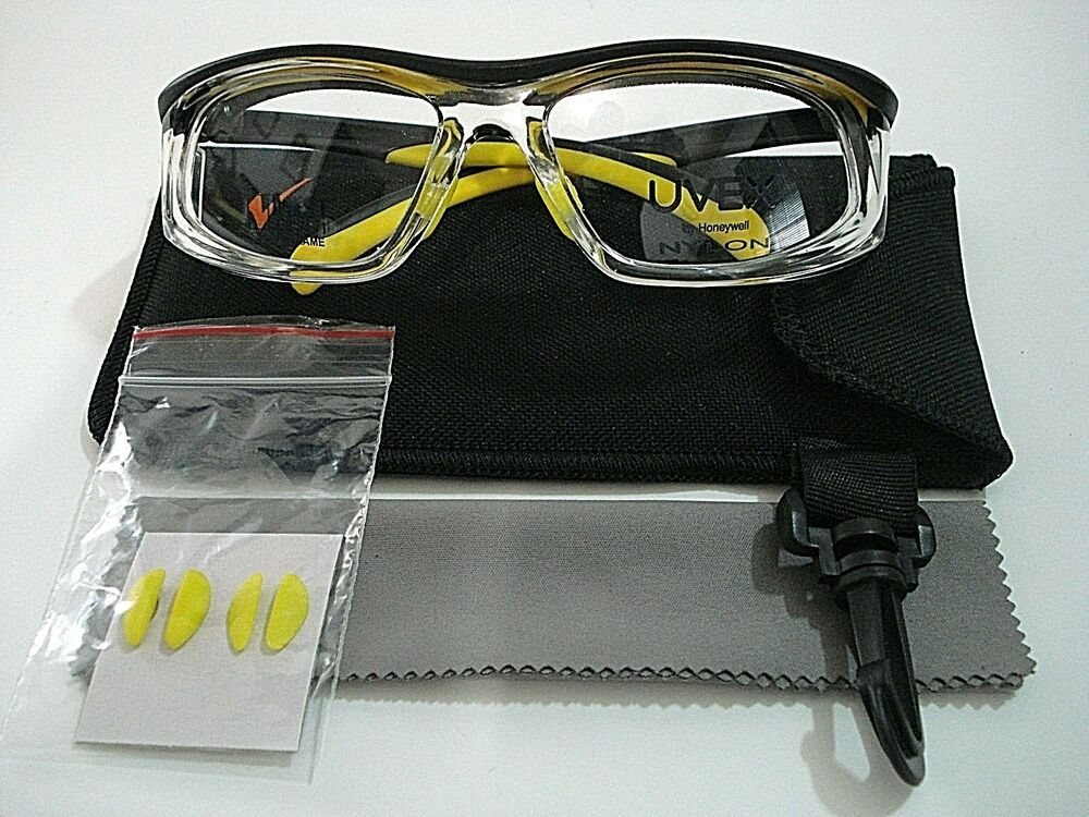 Uvex Safety By Honeywell SW06 Titmus 18560 Yellow Black Clear Safety ...